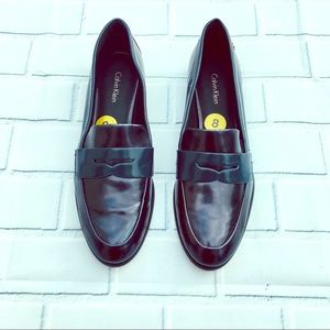 Leather Calvin Klein Loafers